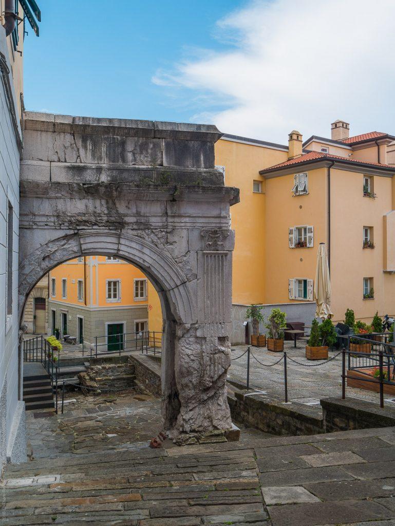 Arco di Ricardo in Trieste
